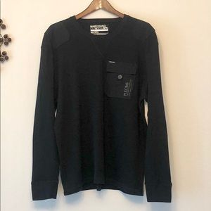 Marc Ecko Cut & Sew Long Sleeve Thermal Shirt